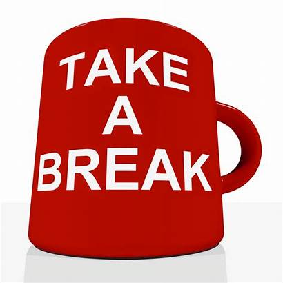 Break Take Mug Relaxing Tiredness Fatigue Change