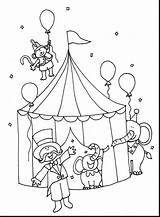 Circus Ringmaster Drawing Coloring Pages Carnival Getdrawings sketch template