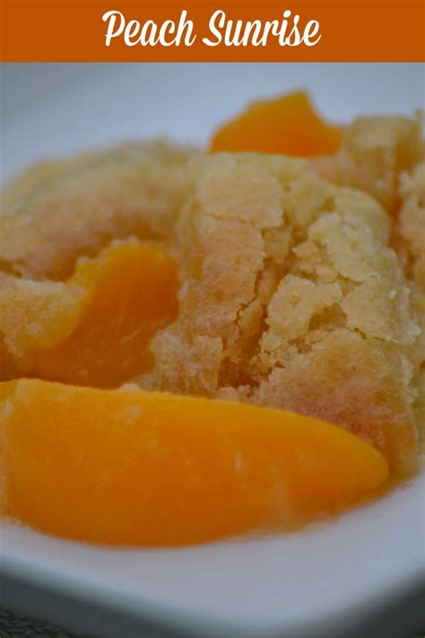 Peaches For Breakfast Peach Sunrise Katie Talks Carolina