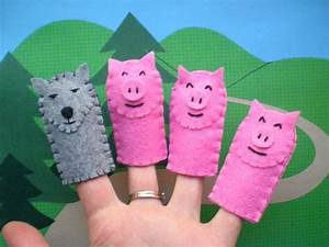 the three little pigs puppet templates - the three little pigs puppets for kids pig by