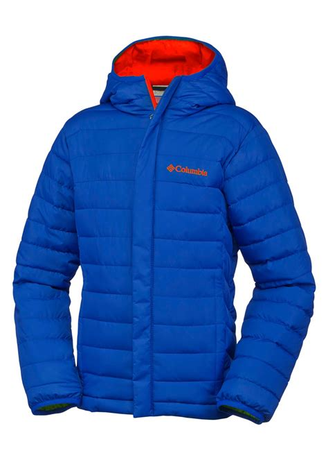 columbia columbia boys powder lite puffer boys jackets kids jackets ages   kids ages