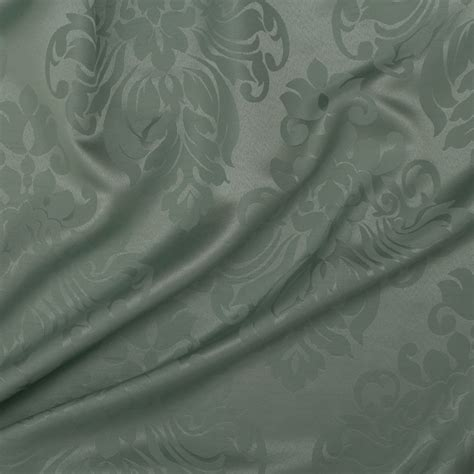 floral damask faux silk jacquard curtain upholstery fabric
