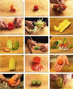 The gallery for --> Simple Vegetable Carvings With Steps