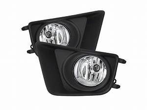 Tacoma Oem Style Fog Lights With Switch  Clear  12