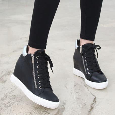 tacones de moda  zapatillas deportivas de tacon