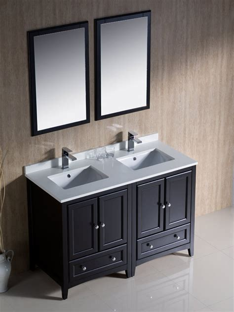 48 inch double sink vanity 48 double vanity inch for bathroom sink canada rigel
