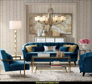 Decorating, Theme, Bedrooms, -, Maries, Manor, Hollywood, Glam, Living, Rooms