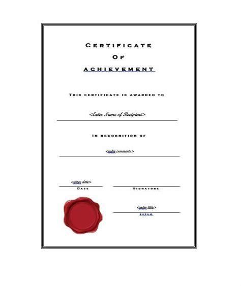 great certificate  achievement templates