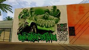GTA San Andreas Grove Street 4 Life Wall Mod - GTAinside.com
