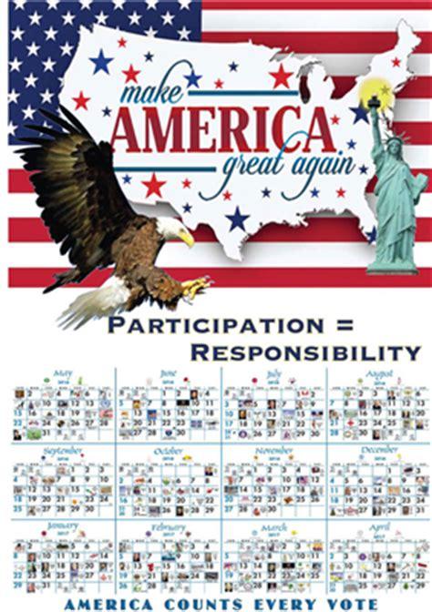 america great calendars