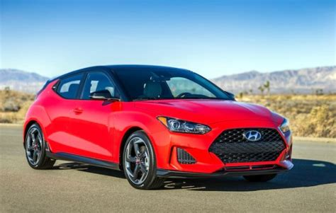 2019 Hyundai Veloster Hatchback Colors, Release Date