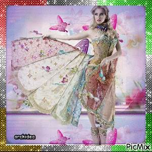 femme robe papillon picmix With robe papillon femme