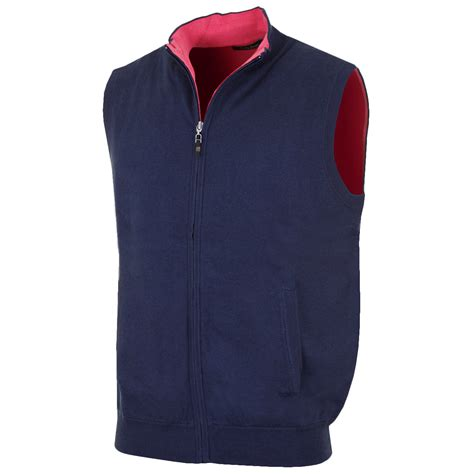 mens sweater vest bobby jones 2016 mens cotton merino zip reversible