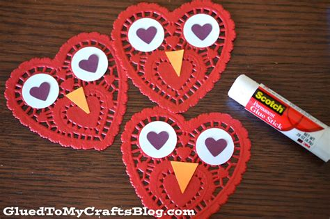 Easy Paper Doily Owl Cards  Glued To My Crafts