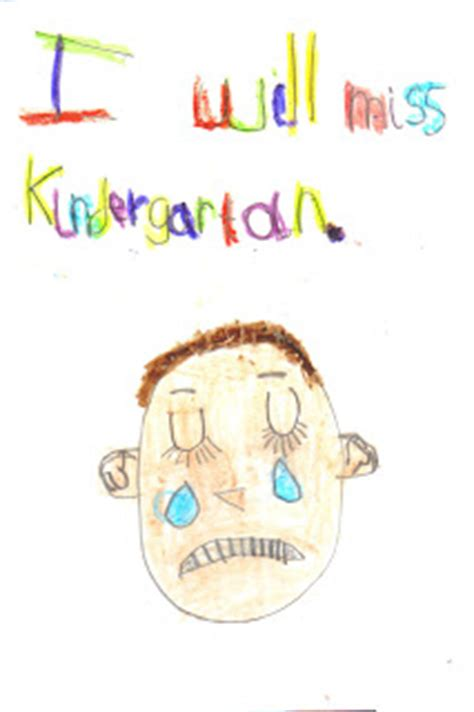 the formenti family of five saying goodbye to kindergarten 672 | kindergarten card front