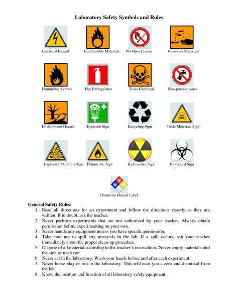 common signs and symbols worksheets the best and most
