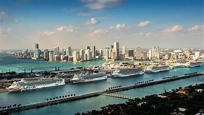 Portmiami Miami Port Fun Cruise Ship Ports
