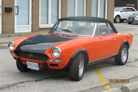1972 Fiat 124 Spider by 1972 Fiat 124 Spider No Reserve Classic Fiat Other