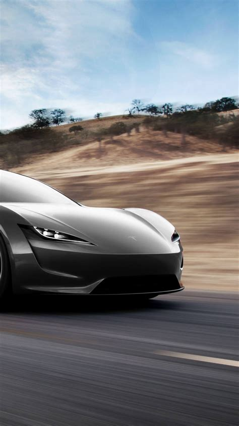 wallpaper tesla roadster  cars electric car