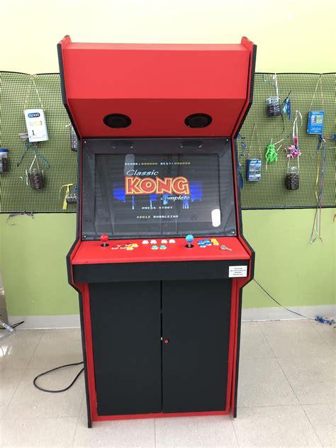finished making  arcade machine   school courtesy