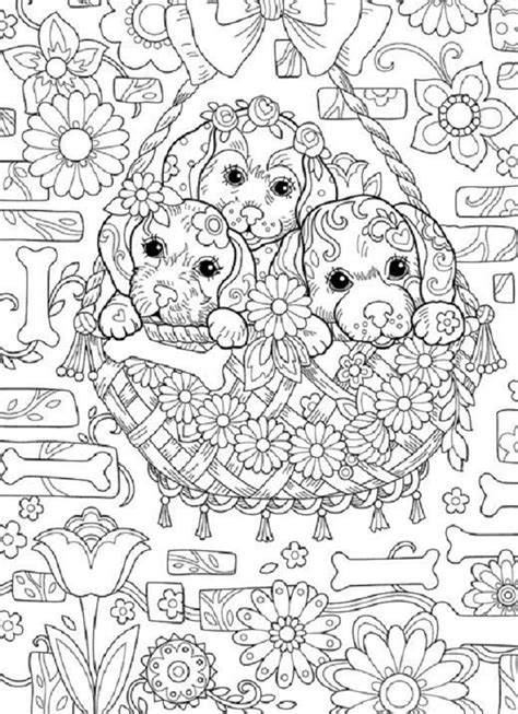 puppy coloring pages hard coloring pages puppy