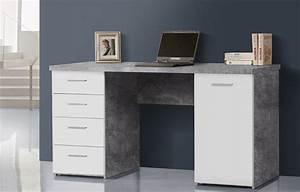 Pc Tisch Groß : schreibtisch pc tisch computertisch mit schubk sten 145 cm ~ Lizthompson.info Haus und Dekorationen