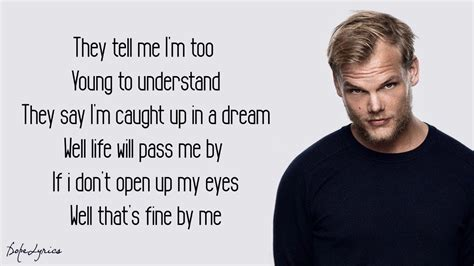 To Me Testo by Avicii Me Up Lyrics