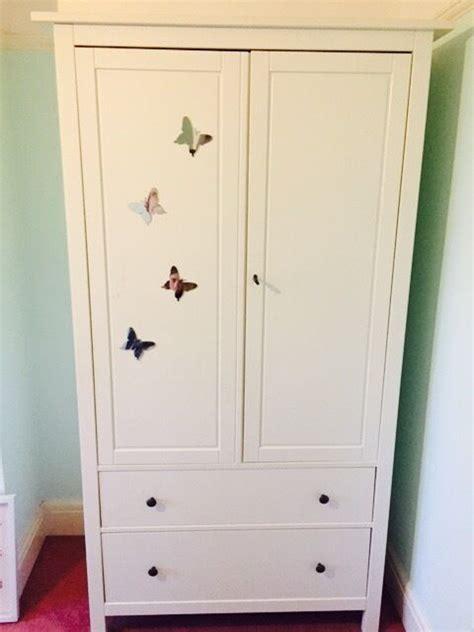 Wardrobe With Drawers Underneath by Ikea Hemnes Wardrobe In Downend Bristol Gumtree