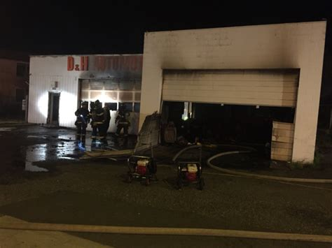 west seattle auto shop fire caused  overheated
