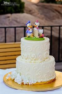 Wedding Cake Wednesday: Donald & Daisy Duck   Disney Weddings