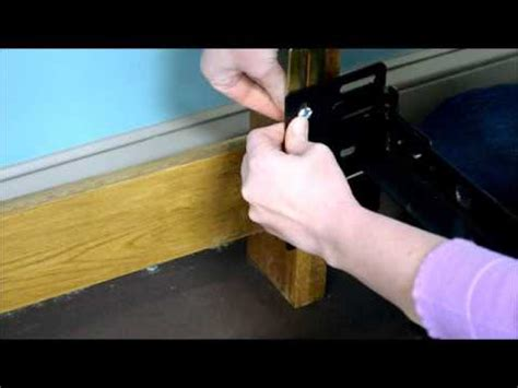 regular bed frame   hook headboard youtube