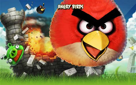 Angry Birds Iphone Game Wallpapers  Hd Wallpapers  Id #8888