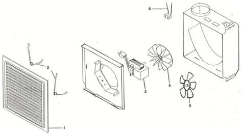 pi 232 ces pour ventilateur de salle de bain inventex