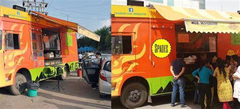 buoy food truck  food delivery service  noida