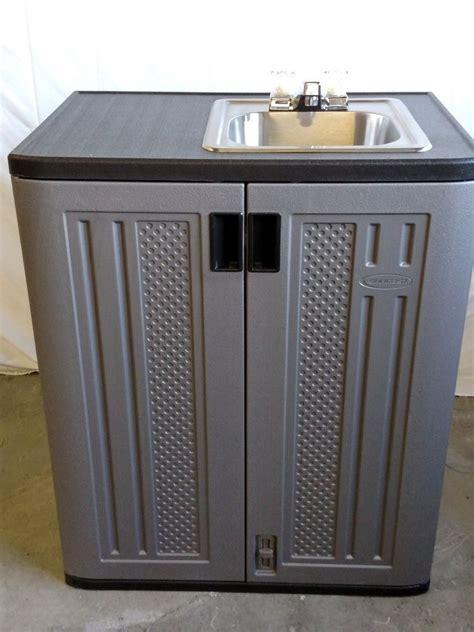 indoor no plumbing sink portable 12 volt indoor outdoor sink cold water ebay