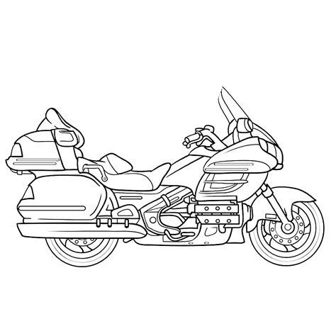 Kleurplaat Crossmotors by Leuk Voor Motor 0008