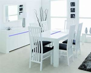 White Dining Chairs For Transitional Interior Design