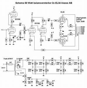 50 Watt Tube Amp Schematic