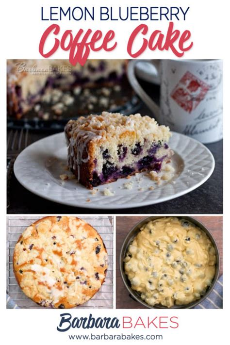 It can be made well in. Lemon Blueberry Coffee Cake Recipe   Barbara Bakes