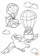 Coloring Flying Sky Albatross Pinguins Pages Fly Curious Animals Printable Tales Learned Template Drawing Books Through Supercoloring sketch template
