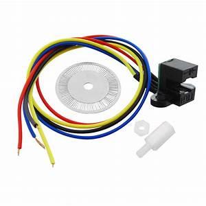 1pcs Photoelectric Speed Sensor Encoder Coded Disc Code
