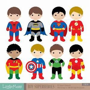 Boys, Superhero, Costumes, Clipart, 1, Boy, Superheroes