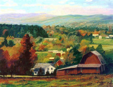 reeds farm ithaca  york painting  ethel vrana