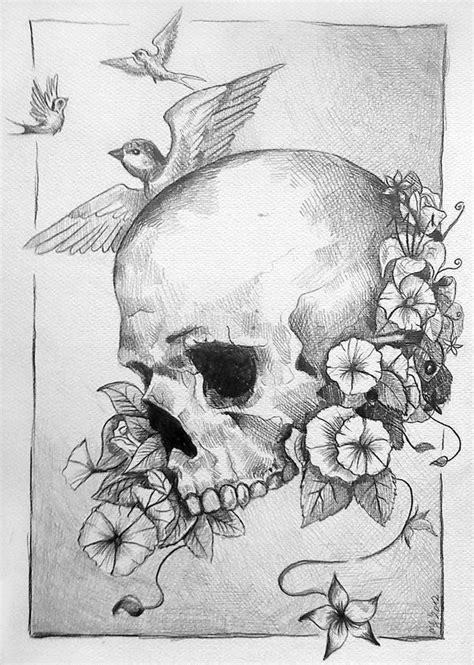Flower Skull Gilotina Deviantart