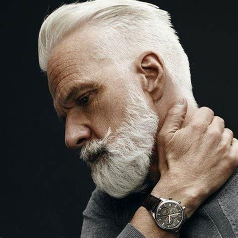 25 Best Hairstyles For Older Men 2019