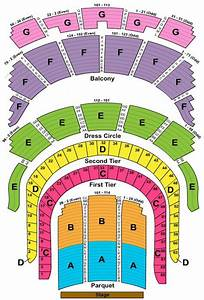 Carnegie Hall Seating Chart New Detailed Seating Chart