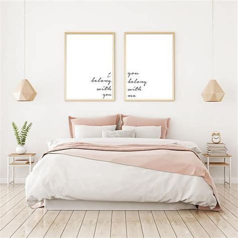 poster chambre bébé set of two prints quote printable quote