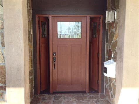 craftsman style doors entry doors with sidelights todays entry doors