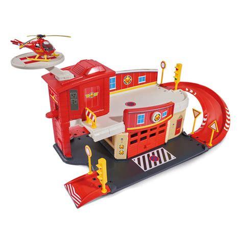 Sam Le Pompier Centre De Secours Majorette  King Jouet