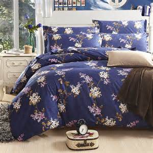 luxury bedding sets designer bedding set bright color comforter sets navy white purple floral